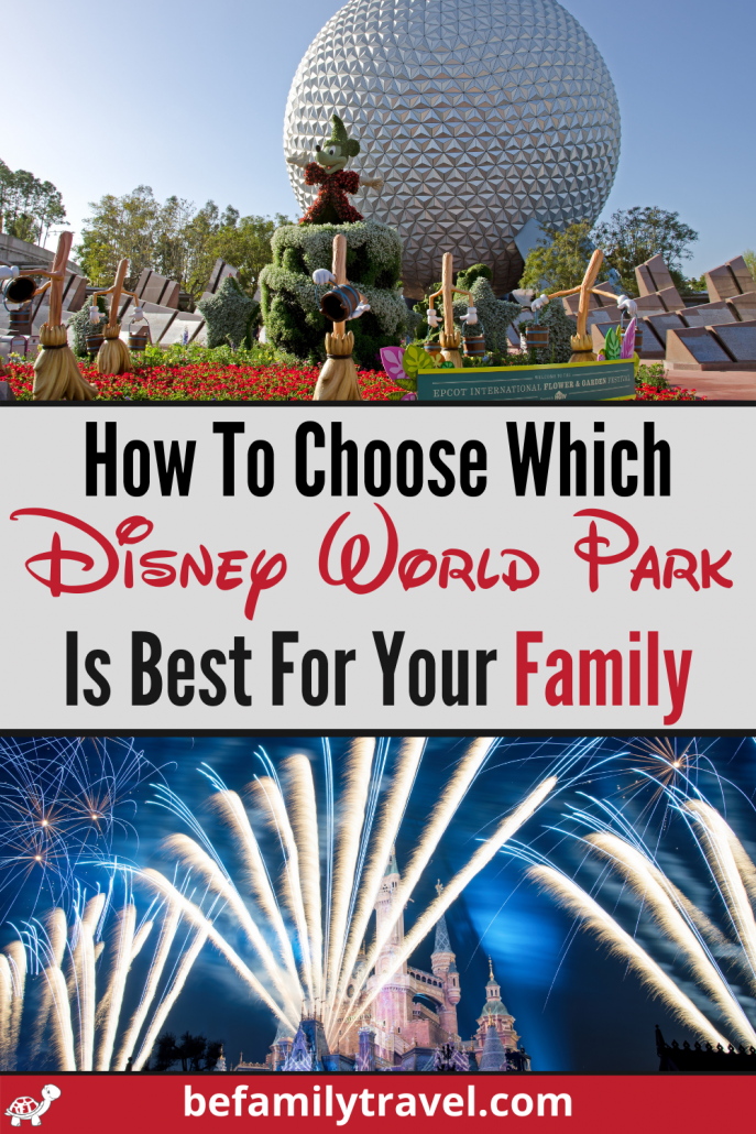 Which Disney World Park is best for your family